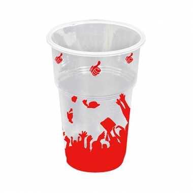 Drinkbekers geslaagd  10x