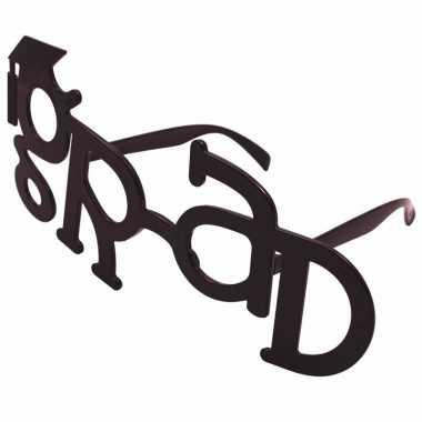 Geslaagd feestbrillen